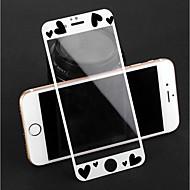abordables Protectores de Pantalla para iPhone-Protector de pantalla para Apple iPhone 8 Plus / iPhone 8 / iPhone 7 Plus Vidrio Templado 1 pieza Protector de Pantalla Frontal Diseño