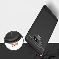 Недорогие Чехлы и кейсы для Galaxy Note 8-Кейс для Назначение SSamsung Galaxy Note 9 / Note 8 Ультратонкий Кейс на заднюю панель Однотонный Мягкий ТПУ для Note 9 / Note 8 / Note 5