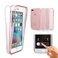 Недорогие Кейсы для iPhone 8-Кейс для Назначение Apple iPhone X / iPhone XS / iPhone XR Защита от удара / Прозрачный Чехол Однотонный Твердый ПК для iPhone XS / iPhone XR / iPhone XS Max