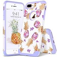 Недорогие Кейсы для iPhone 8 Plus-bentoben case for apple iphone 8 plus / iphone 7 плюс ударопрочный / imd / рисунок для задней обложки / линии / волны / плоский мягкий ПК / силикагель для iphone 8 plus / iphone 7 plus