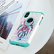 Недорогие Кейсы для iPhone 8-Кейс для Назначение Apple iPhone X / iPhone 8 Защита от удара / Стразы / С узором Кейс на заднюю панель Ловец снов Твердый ПК для iPhone X / iPhone 8 Pluss / iPhone 8