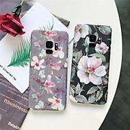 Недорогие Чехлы и кейсы для Galaxy S9 Plus-Кейс для Назначение SSamsung Galaxy S9 Plus / S8 Plus С узором Кейс на заднюю панель Цветы Твердый ПК для S9 / S9 Plus / S8 Plus