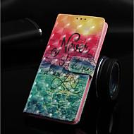 Недорогие Кейсы для iPhone 8 Plus-Кейс для Назначение Apple iPhone XR / iPhone XS Max Кошелек / Бумажник для карт / со стендом Чехол Пейзаж Твердый Кожа PU для iPhone XS / iPhone XR / iPhone XS Max