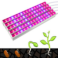 abordables Luces de Crecimiento-30W 270-300lm Growing Strip Lights Tubo 75 Cuentas LED SMD 5730 Decorativa Azul Rojo 85-265V