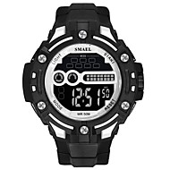 levne -SMAEL Pánské Sportovní hodinky Digitální hodinky japonština Digitální Černá 50 m Voděodolné Kalendář Svítící Digitální Módní - Černá / červená Černá / Bílá