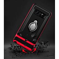 Недорогие Чехлы и кейсы для Galaxy Note 8-Кейс для Назначение SSamsung Galaxy Note 8 со стендом / Кольца-держатели Кейс на заднюю панель броня Твердый ТПУ для Note 8