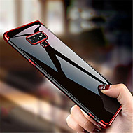 Недорогие Чехлы и кейсы для Galaxy Note 8-Кейс для Назначение SSamsung Galaxy Note 9 / Note 8 Покрытие Кейс на заднюю панель Однотонный Мягкий ТПУ для Note 9 / Note 8