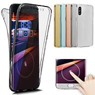 Недорогие Кейсы для iPhone 8-Кейс для Назначение Apple iPhone X / iPhone 8 Прозрачный Чехол Однотонный Мягкий ТПУ для iPhone X / iPhone 8 Pluss / iPhone 8