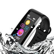 KUPENG WQ6 스마트 팔찌 Android iOS 블루투스 GPS 스포츠 방수 심장 박동수 모니터 만보기 콜 알림 액티비티 트렉커 슬립 트렉커 앉아있는 알림 / 혈압 측정 / 터치 스크린 / 칼로리 태움 / 긴 대기시간 / 내 전자제품 찾기