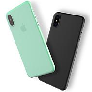 Недорогие Кейсы для iPhone 8 Plus-Кейс для Назначение Apple iPhone X / iPhone 8 / iPhone 8 Plus Защита от пыли Кейс на заднюю панель Однотонный Твердый пластик для iPhone X / iPhone 8 Pluss / iPhone 8