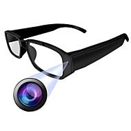 お買い得  -HQCAM Eyeglasses camera 1 mp IPカメラ 屋内 サポート 0 GB / CMOS / ワイヤレス / Android / iPhone OS / モーション検出