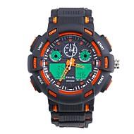 levne -SMAEL Pánské Sportovní hodinky Digitální hodinky japonština Digitální Černá 50 m Voděodolné Kalendář Chronograf Analog - Digitál Módní - Černá / Modrá Orange / Black / Svítící