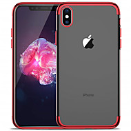 cheap -Case For Apple iPhone XR / iPhone XS Max Plating / Transparent Back Cover Solid Colored Soft TPU for iPhone XS / iPhone XR / iPhone XS Max