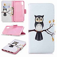 cheap -Case For Apple iPhone XR / iPhone XS Max Wallet / Card Holder / with Stand Full Body Cases Owl Hard PU Leather for iPhone XS / iPhone XR / iPhone XS Max