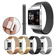 Недорогие Аксессуары для смарт-часов-Ремешок для часов для Fitbit ionic Fitbit Миланский ремешок Нержавеющая сталь Повязка на запястье