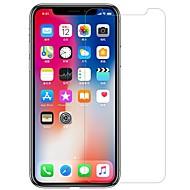 Недорогие Защитные плёнки для экрана iPhone-Защитная плёнка для экрана для Apple iPhone XS Закаленное стекло / PET 1 ед. Защитная пленка для экрана и задней панели HD / Уровень защиты 9H / Взрывозащищенный