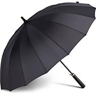 Недорогие Защита от дождя-пластик / Нержавеющая сталь Муж. Солнечный и дождливой Зонт-трость