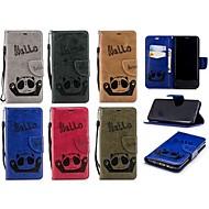 Недорогие Чехлы и кейсы для Galaxy S9 Plus-Кейс для Назначение SSamsung Galaxy S9 / S8 Plus Кошелек / Бумажник для карт / Флип Чехол Панда Твердый Кожа PU для S9 / S9 Plus / S8 Plus