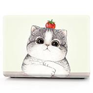 """お買い得  MacBook 用ケース/バッグ/スリーブ-MacBook ケース 動物 プラスチック のために 新MacBook Pro 15"""" / 新MacBook Pro 13"""" / MacBook Pro 15インチ"""