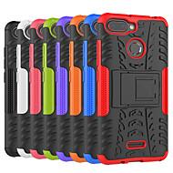 お買い得  携帯電話ケース-ケース 用途 Xiaomi Redmi 6 / Redmi 5A 耐衝撃 / スタンド付き バックカバー タイル柄 / 鎧 ハード PC のために Redmi Note 5A / Xiaomi Redmi Note 4X / Xiaomi Redmi Note 4