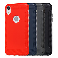 cheap -Case For Apple iPhone XR / iPhone XS Max Embossed Back Cover Solid Colored Soft TPU for iPhone XS / iPhone XR / iPhone XS Max