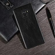 Недорогие Чехлы и кейсы для Galaxy S8 Plus-Кейс для Назначение SSamsung Galaxy S9 Plus / S9 Ультратонкий / Матовое Кейс на заднюю панель Однотонный Мягкий Кожа PU для S9 / S9 Plus / S8 Plus