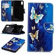 cheap -Case For Apple iPhone XR / iPhone XS Max Wallet / Card Holder / with Stand Full Body Cases Butterfly Hard PU Leather for iPhone XS / iPhone XR / iPhone XS Max