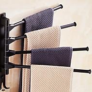 Χαμηλού Κόστους Gadget Μπάνιου-Κρεμάστρα Νεό Σχέδιο Σύγχρονο Αλουμίνιο 1pc 4-μπαρ με πετσέτες Επιτοίχιες