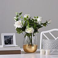 abordables Flores Artificiales-Flores Artificiales 0 Rama Clásico / Sencilla Elegante / Modern Florero Flor de Mesa