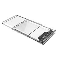 abordables Fundas de Disco Duro-Recinto del disco duro Fácil de llevar El plastico USB 2.0 2139U3