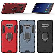 Недорогие Чехлы и кейсы для Galaxy Note-Кейс для Назначение SSamsung Galaxy Note 9 Кольца-держатели Кейс на заднюю панель броня Твердый ПК для Note 9