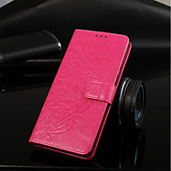 Недорогие Кейсы для iPhone 8 Plus-Кейс для Назначение Apple iPhone XR / iPhone XS Max Кошелек / Бумажник для карт / со стендом Чехол Бабочка Твердый Кожа PU для iPhone XS / iPhone XR / iPhone XS Max