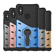 お買い得  携帯電話ケース-ケース 用途 Xiaomi Redmi Note 5 Pro / Redmi S2 耐衝撃 / スタンド付き バックカバー 鎧 ハード PC のために Redmi Note 5A / Xiaomi Redmi Note 5 Pro / Xiaomi Redmi注5