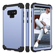 Недорогие Чехлы и кейсы для Galaxy Note-BENTOBEN Кейс для Назначение SSamsung Galaxy Note 9 Защита от удара Чехол Однотонный Твердый Силикон / ПК для Note 9
