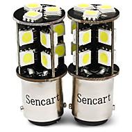 Недорогие Задние фонари-SENCART 2pcs T20 (7440,7443) / BA15S (1156) / BAY15D (1157) Мотоцикл / Автомобиль Лампы 4 W SMD 5050 380 lm 19 Светодиодная лампа Лампа поворотного сигнала / Рабочее освещение / Мотоцикл Назначение