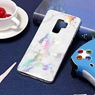 Недорогие Чехлы и кейсы для Galaxy S9 Plus-Кейс для Назначение SSamsung Galaxy S9 Plus / S8 Покрытие / С узором Кейс на заднюю панель Мрамор Мягкий ТПУ для S9 / S9 Plus / S8 Plus