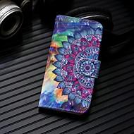 Недорогие Чехлы и кейсы для Galaxy Note 8-Кейс для Назначение SSamsung Galaxy Note 9 / Note 8 Кошелек / Бумажник для карт / со стендом Чехол Мандала Твердый Кожа PU для Note 9 / Note 8