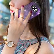 Недорогие Чехлы и кейсы для Galaxy S-Кейс для Назначение SSamsung Galaxy S7 Защита от удара / С узором Чехол Города / Цветы Твердый Силикон / ПК для S7