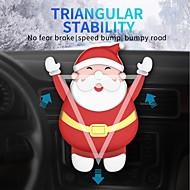 Lenuo Santa Claus Christmas Car Phone Gravity Bracket , Univeral Cell Phone Car Phone Mount Holder