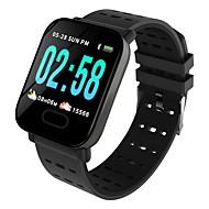 お買い得  -Indear M20/A6 男性 スマートブレスレット Android iOS ブルートゥース スポーツ 防水 心拍計 血圧測定 タッチスクリーン 歩数計 着信通知 アクティビティトラッカー 睡眠サイクル計測器 座りがちなリマインダー / 目覚まし時計