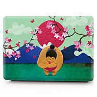 "voordelige -MacBook Hoes Cartoon PVC voor MacBook Pro 13"" / MacBook Pro 15'' met Retina-scherm / New MacBook Air 13"" 2018"