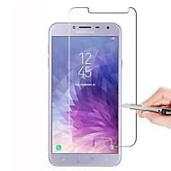 お買い得  Samsung 用スクリーンプロテクター-スクリーンプロテクター のために Samsung Galaxy A8 2018 強化ガラス 1枚 スクリーンプロテクター ハイディフィニション(HD) / 硬度9H / 2.5Dラウンドカットエッジ