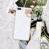 Недорогие Кейсы для iPhone 8 Plus-Кейс для Назначение Apple iPhone X / iPhone 8 Plus Своими руками Кейс на заднюю панель Мультипликация Мягкий ТПУ для iPhone X / iPhone 8 Pluss / iPhone 8