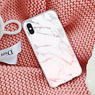 Недорогие Кейсы для iPhone 8-Кейс для Назначение Apple iPhone X / iPhone 8 Plus С узором Кейс на заднюю панель Мрамор Мягкий ТПУ для iPhone X / iPhone 8 Pluss / iPhone 8