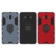 abordables -Coque Pour Huawei Mate 10 Antichoc / Anneau de Maintien Coque Couleur Pleine / Armure Dur PC pour Mate 10