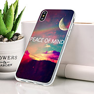 billige -Etui Til Apple iPhone XR Støvsikker / Ultratyndt / Mønster Bagcover Farvegradient Blødt TPU for iPhone XR