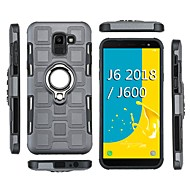 Недорогие Чехлы и кейсы для Galaxy J-Кейс для Назначение SSamsung Galaxy J2 PRO 2018 Защита от удара / Кольца-держатели Кейс на заднюю панель броня Мягкий ТПУ для J8 (2018) / J7 (2018) / J6 (2018)