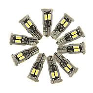 halpa -SENCART 10pcs T10 Auto Lamput 5 W SMD 5630 800 lm 10 LED sisävalot Käyttötarkoitus General Motors Kaikki vuodet