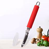 お買い得  キッチン用小物-キッチンツール ステンレス+プラスチック クリエイティブキッチンガジェット ピーラー&おろし金 調理器具のための 1個