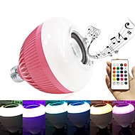 abordables Bombillas LED Inteligentes-brelong led smart bluetooth music bulb 1 pc